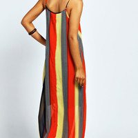 Freya Tribal Stripe Cami Maxi Dress
