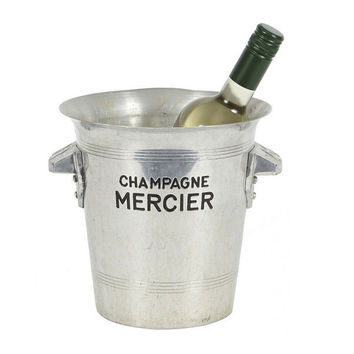 Found Metal Champagne Ice Bucket