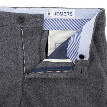 Hewes - Heavyweight Light Gray Flannel