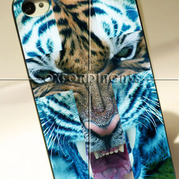 Cover Skin Cross Tiger Design - for iPhone 4/4S case iPhone 5 case hard case hard cover