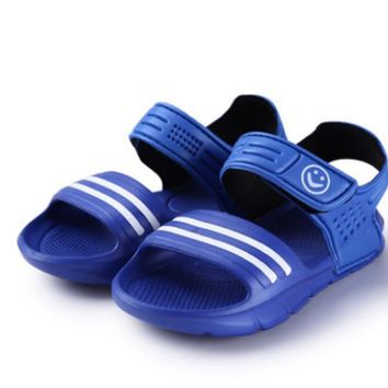 Boys Girls Kids Childrens Child Summer Beach Casual Walking Sports Sandals Shoes For B