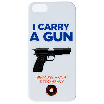 I Carry a Gun Phone Case