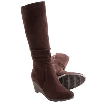Blondo Lizenn Wedge Boots - Suede (For Women)