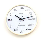 Math Geek Clock