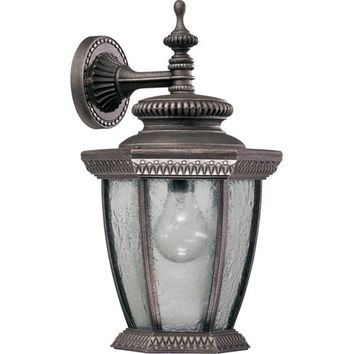 Quorum International 7803-45 Baltic Large Down One-Light Baltic Granite Outdoor Wall Light