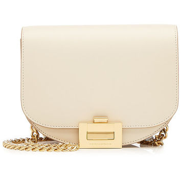Half Moon Box Leather Shoulder Bag - Victoria Beckham | WOMEN | US STYLEBOP.COM