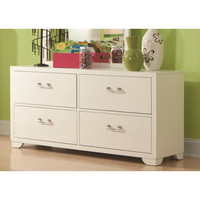 American Woodcrafters 5310-240 Smart Solutions White Double Dresser