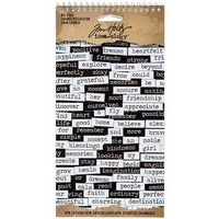 Tim Holtz Black & White Small Talk Stickers | Hobby Lobby