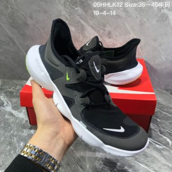 d8749d9987caa HCXX N1355 Wmns Nike Free Rn Flyknit 5.0 Light Fashion breathabl