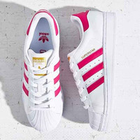 Adidas trefoil superstar shell shoes for men and women