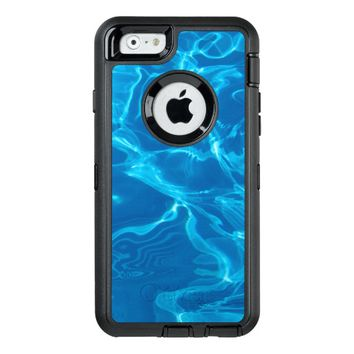 Blue water OtterBox iPhone 6/6s case