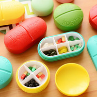 Candy Solid Cute Pill Medicine Travel Outdoor Case Storage Splitters Box Jewelry Display Cosmetic Makeup Organizer-in Cosmetic Bags & Cases from Luggage & Bags on Aliexpress.com | Alibaba Group