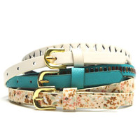 With Love From CA Floral Multi 3 Pack Belt at PacSun.com