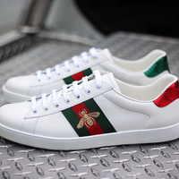 Gucci Men Ace embroidered low-top sneaker