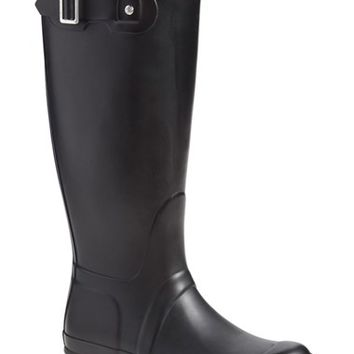 Women's Hunter 'Tall' Back Zip Rain Boot ,