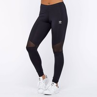 adidas Originals Womens Colorado Mesh Splicing Leggings - Black