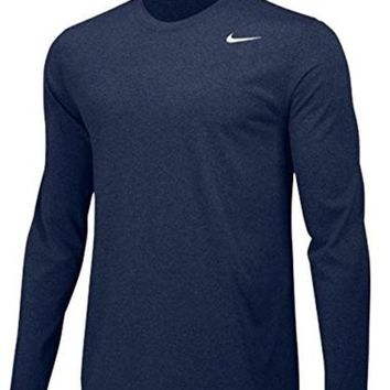 ONETOW Nike Mens Longsleeve Legend - Navy - 2XL