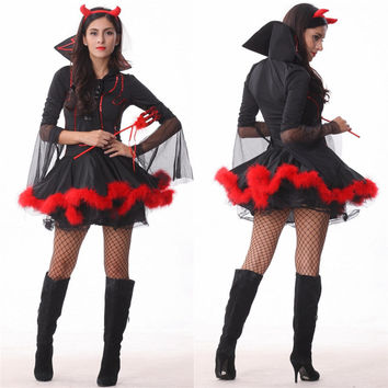 Cosplay Pirate Devil Halloween Club Uniform [9220890436]