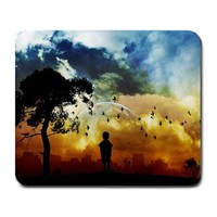 Age of Innocence Fantasy Sunset Large Mousepad