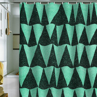 DENY Designs Home Accessories | Nick Nelson Analogous Shapes Shower Curtain