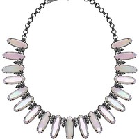 Gabriella Statement Necklace in Iridescent Opalite - Kendra Scott Jewelry