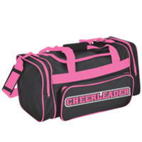 Contrast Cheerleader Duffle Bag