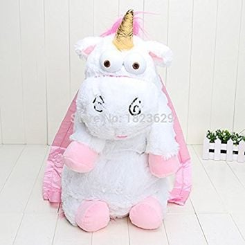 Despicable Me unicorn bag plush unicorns toy backpack toys for girls kids birthday gift 603026cm Backpack