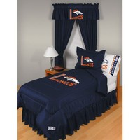 Sports Coverage Denver Broncos Comforter - Twin - 01JRCOM1BROTWIN