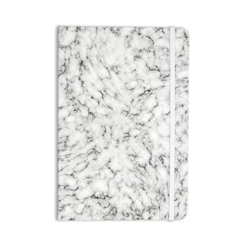 "Will Wild ""Marble"" White Gray Everything Notebook"