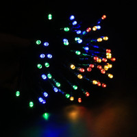 Solar Powered 60 LED Light String For Room Garden Home Christmas Party Decoration Waterproof