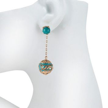 MOROCCO DROP EARRINGS - TURQUOISE