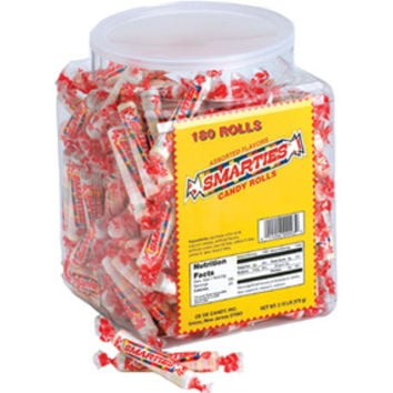 Smarties Candy Rolls: 180-Piece Tub