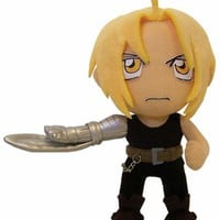 Fullmetal Alchemist Plush: Edward with Machine Arm (8 in)