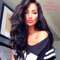 2016 7A Grade Unprocessed Virgin Brazilian Full Lace Human Hair Wigs Lace Front Wigs Glueless Full Lace Wig