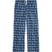 Boys Santa Whale & Tree Lounge Pants