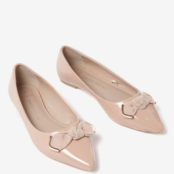 Wide Fit Rose Patent 'Harrie' Pumps | Dorothyperkins