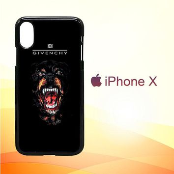 Dope Givenchy E0816 iPhone X Case