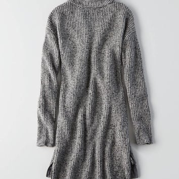 AEO Turtleneck Sweater Dress, Olive