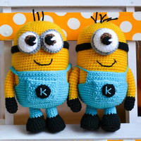 Crochet Pattern Minion