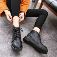 Woman Ankle Boots Lace-Up
