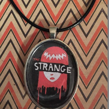 Emily the Strange Portrait Necklace Version 2