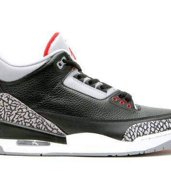 "Air Jordan III Retro ""Black/Cement"""