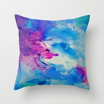 Emanate Throw Pillow by DuckyB