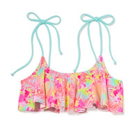 Flounce Crop Top - PINK - Victoria's Secret