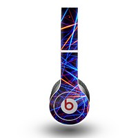 The Neon Glowing Strobe Lights Skin for the Beats by Dre Original Solo-Solo HD Headphones