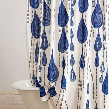 Anthropologie Tear Chain Shower Curtain | Nordstrom