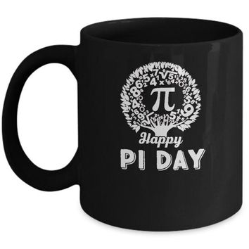 DCKIJ3 Happy Pi Day Math Major Teacher Mug