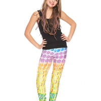 Girls Candy Crush Falling Candy Leggings