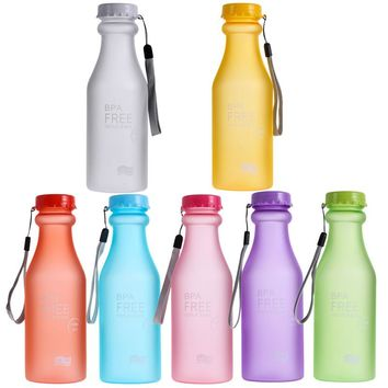 Sports Water Bottle Container Leak-proof