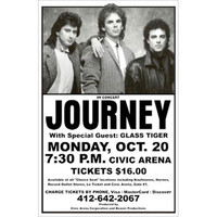Journey - Concert Promo Poster